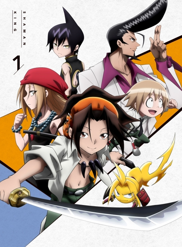 【Blu-ray】TV SHAMAN KING Blu-ray BOX 1 初回生産限定版 アニメイト限定セット