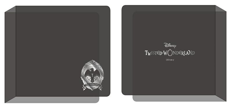 【グッズ-ファイル】ディズニー ツイステッドワンダーランド アルカナカード収納ファイル SILVER ver.