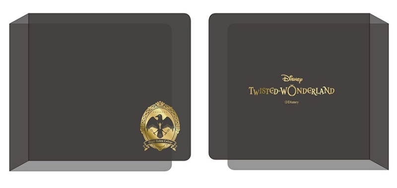 【グッズ-ファイル】ディズニー ツイステッドワンダーランド アルカナカード収納ファイル GOLD ver.【アニメイト限定】