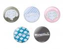 【グッズ-バッチ】SSSS.DYNAZENON 夢芽の鞄のマスコット 缶バッジセットの画像