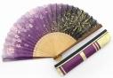 【グッズ-扇子】薄桜鬼 真改 扇子袋セット 土方歳三 紫【舞扇堂】の画像