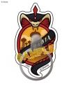 【グッズ-携帯グッズ】ディズニー ツイステッドワンダーランド ダイカットマルチリング スカラビアの画像