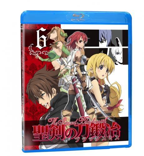 【Blu-ray】TV 聖剣の刀鍛冶-ブラックスミス- Vol.6