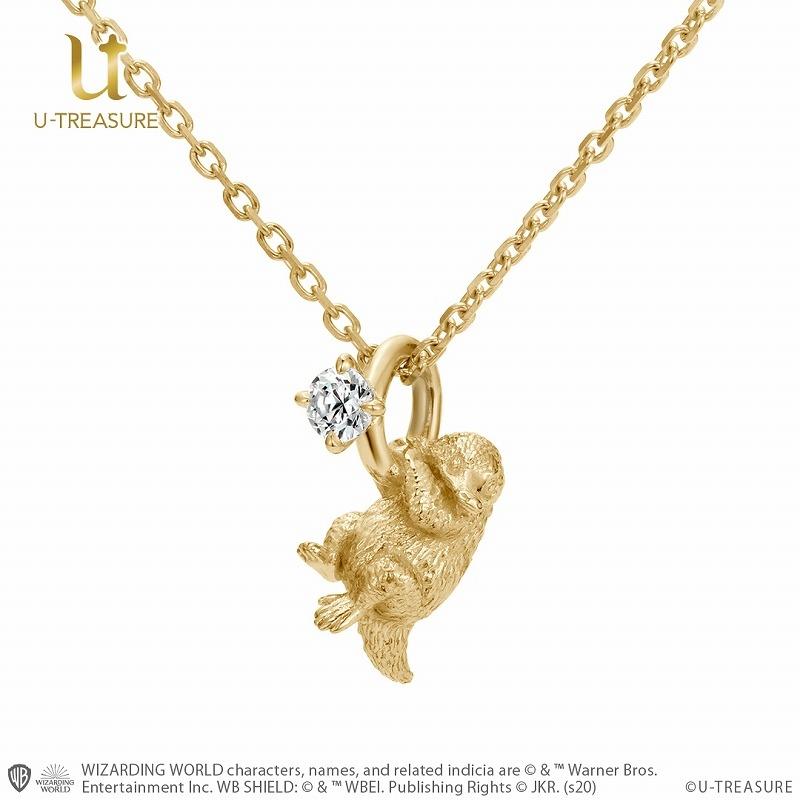 【グッズ-ネックレス】ファンタスティック ビースト Niffler Necklace K18イエローゴールド