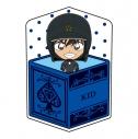 【グッズ-クッション】名探偵コナン キャラ箱クッションVol.6 キッド追跡コレクション 怪盗キッド(機動隊)の画像