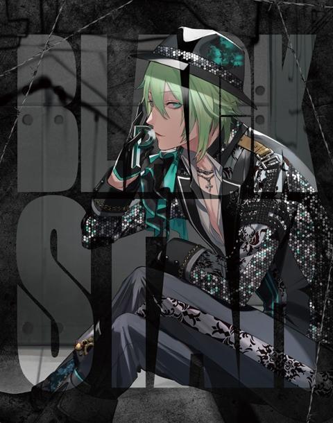 【アルバム】ゲーム ブラックスター -Theater Starless- BLACKSTAR 初回限定盤 teamP Ver.