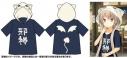 【グッズ-ジャンパー・コート】蒼の彼方のフォーリズム 真白・邪神ちゃん半袖パーカー(Lサイズ)の画像