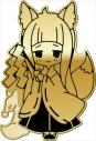 【グッズ-バッチ】ダンジョンに出会いを求めるのは間違っているだろうか 京でお仕事バッジ 春姫の画像