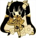 【グッズ-バッチ】ダンジョンに出会いを求めるのは間違っているだろうか 京でお仕事バッジ ヘスティアの画像