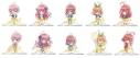 【グッズ-スタンドポップ】五等分の花嫁 トレーディング五等分アクリルフィギュアの画像