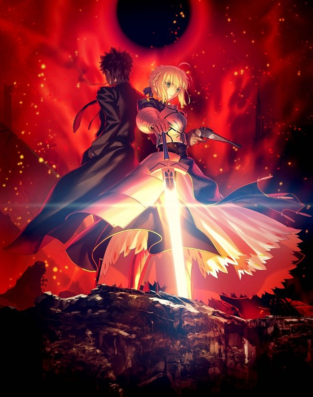 【Blu-ray】TV Fate/Zero Blu-ray Disc Box Standard Edition