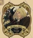 【グッズ-ステッカー】Fairy gone トラベルステッカー 4.ウルフラン・ロウの画像