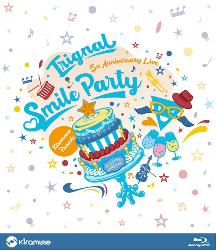"""【Blu-ray】Trignal 5th Anniversary Live """"SMILE PARTY"""" Live BD"""
