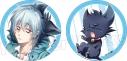 【グッズ-バッチ】劇場版「SERVAMP-サーヴァンプ-」 缶バッジセットの画像