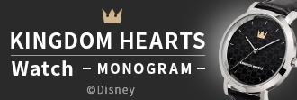KINGDOM HEARTS Watch -MONOGRAM-