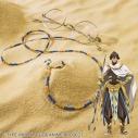 【グッズ-その他】劇場版 Fate/Grand Order -神聖円卓領域キャメロット- オジマンディアスイメージグラスコードの画像