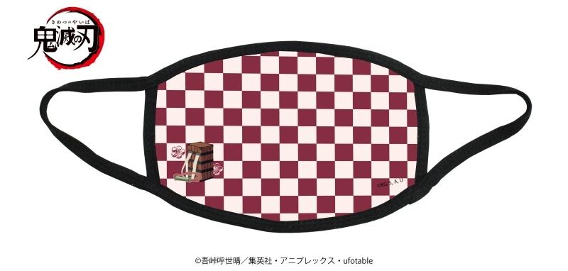 鬼滅の刃 布マスク 02/レッド_0