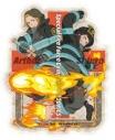 【グッズ-ステッカー】炎炎ノ消防隊 トラベルステッカー (6)森羅&アーサーの画像