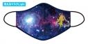 【サイクルウェア】究極!ニパ子ちゃん 洗えるマスクLight Mサイズ 宇宙ニパ子Ver.【アウローラ】の画像