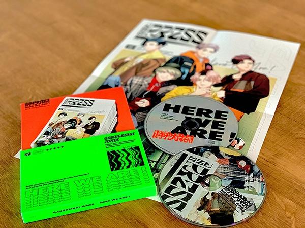 【アルバム】学芸大青春 1st Album HERE WE ARE ! 完全生産限定盤A