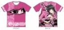 【グッズ-Tシャツ】戦姫絶唱シンフォギアXV ツーリングTシャツ 月読調Ver. XLサイズ【アウローラ】の画像