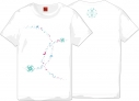 【グッズ-Tシャツ】刀剣乱舞-ONLINE-×MARS16 巴形薙刀 レディースLの画像
