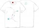 【グッズ-Tシャツ】刀剣乱舞-ONLINE-×MARS16 巴形薙刀 レディースSの画像