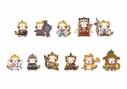 【グッズ-ストラップ】Fate/Grand Order -絶対魔獣戦線バビロニア-×ラスカル トレーディングラバーストラップ【アニメイト先行販売分】の画像