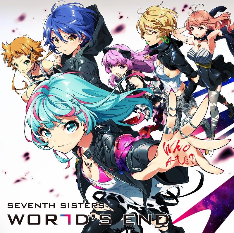 【キャラクターソング】ゲーム Tokyo 7th シスターズ セブンスシスターズ/WORLD'S END 通常盤