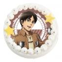 【08月23日発送分・DM01】「アニメ 進撃の巨人 Season 3」キャラクターケーキ(エレン・イェーガー)の画像