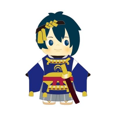 【グッズ-マスコット】刀剣乱舞-ONLINE-×コスチュームキューピー 其ノ壱