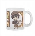 【グッズ-マグカップ】文豪ストレイドックス ねんどろいどぷらす グラスマグカップ 江戸川乱歩の画像