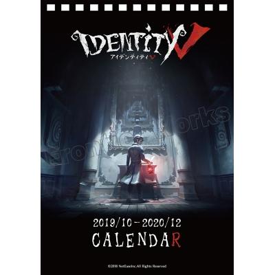 【グッズ-カレンダー】Identity V 2019.10‐2020.12カレンダー