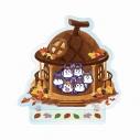 【グッズ-スタンドポップ】おそ松さんのニートスゴロクぶらり旅 アクリルスタンディ(6つ子のリスと魔法のどんぐり)【追加受注販売】の画像