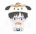 【グッズ-ぬいぐるみ】ユーリ!!! on ICE×Sanrio characters 3rd Anniversary ぬいぐるみ 勝生勇利の画像