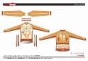 【サイクルウェア】ヤマノススメ サードシーズン サイクルウインタージャケット Mサイズ【GSR Gear】の画像