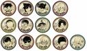 【グッズ-セット】名探偵コナン ヴィンテージシリーズ ガラスマグネット 13点セット【送料無料】の画像