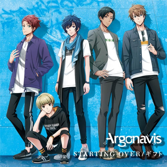 【キャラクターソング】ARGONAVIS from BanG Dream! Argonavis STARTING OVER/ギフト Blu-ray付生産限定盤