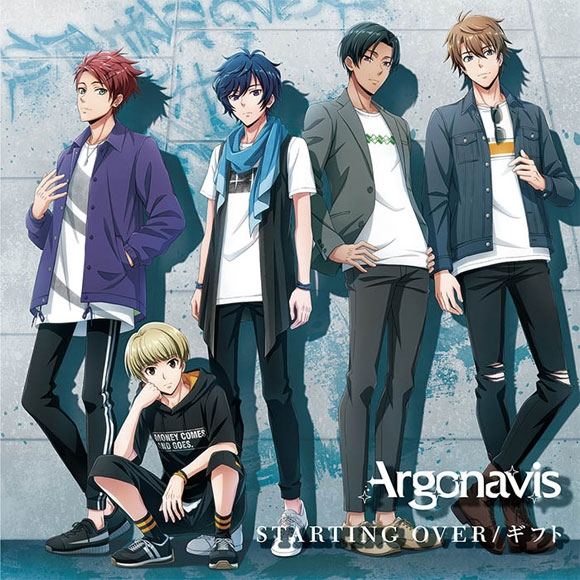 【キャラクターソング】ARGONAVIS from BanG Dream! Argonavis STARTING OVER/ギフト 通常盤
