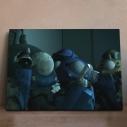 【グッズ-飾り物】攻殻機動隊 SAC_2045 アニピクメモリアルウォール タチコマ 6の画像