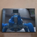 【グッズ-飾り物】攻殻機動隊 SAC_2045 アニピクメモリアルウォール タチコマ 7の画像