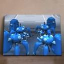 【グッズ-飾り物】攻殻機動隊 SAC_2045 アニピクメモリアルウォール タチコマ 8の画像