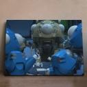 【グッズ-飾り物】攻殻機動隊 SAC_2045 アニピクメモリアルウォール タチコマ 9の画像