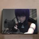 【グッズ-飾り物】攻殻機動隊 SAC_2045 アニピクメモリアルウォール 草薙素子 4の画像