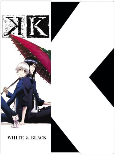 【Blu-ray】OVA 『K』 Image Blu-ray WHITE&BLACK