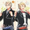 【キャラクターソング】アニメ ヘタリア The World Twinkle キャラクターCD Vol.4 デンマーク・スウェーデンの画像