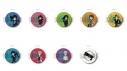 【グッズ-セット】PSYCHO-PASS サイコパス レザーバッジ 9点セット『アニメイト先行販売』【送料無料】の画像