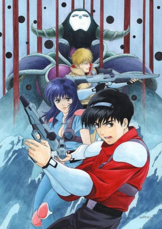 【Blu-ray】赤い光弾ジリオン Blu-ray BOX