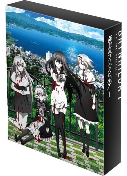 【Blu-ray】TV 極黒のブリュンヒルデ Blu-ray BOX I