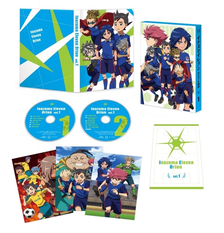 【Blu-ray】TV イナズマイレブン オリオンの刻印 Blu-ray BOX 第1巻